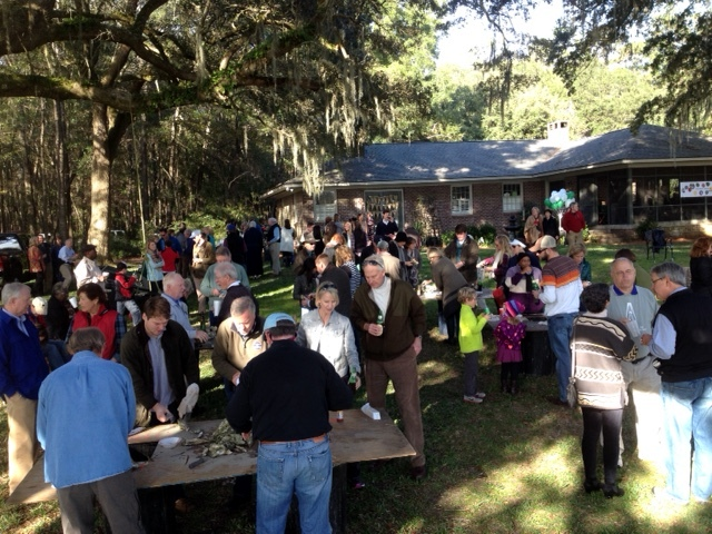 Oyster Roast Catering Charleston, SC.  Coastal Caterers